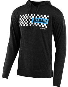 Troy Lee Designs Yamaha Checkers Pullover Sweatshirt Charcoal Heather