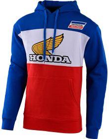 Troy Lee Designs Honda Retro Victory Wing Sweatshirt Blue/White/Red