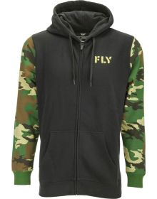Fly Racing Corporate Pullover Sweatshirt Camo/Black