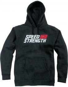 Speed and Strength Racer Sweatshirt Black