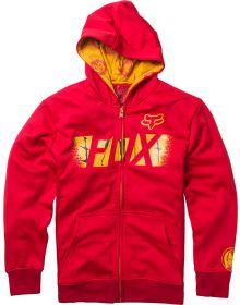 Fox Racing Marvel Iron Man Zip Youth Sweatshirt Red