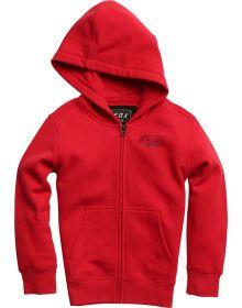 Fox Racing Edify Youth Zip-Up Sweatshirt Dark Red