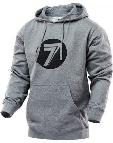 Seven Dot Youth Pullover Hoodie Sweatshirt Gray