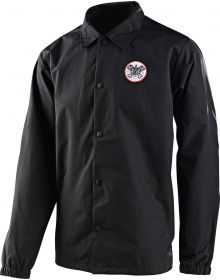 Troy Lee Designs Pistonbone Youth Windbreaker Jacket Black