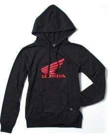 Factory FX Honda Wing Womens Pullover Sweatshirt Black