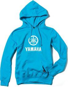 Factory FX Yamaha Stacked Womens Pullover Sweatshirt Aquamarine