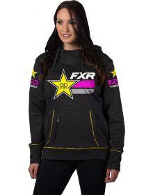FXR Race Division Tech Pullover Womens Sweatshirt Rockstar