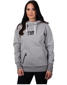 FXR Ride Pullover Womens Sweatshirt Grey Heather/Black