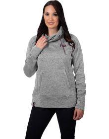 FXR Fusion Pullover Sweater Heather Grey/Plum