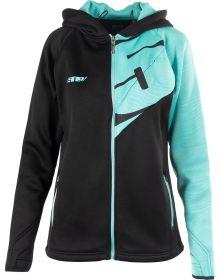 509 Tech Womens Zip Sweatshirt Teal