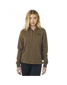 Fox Racing Roost Womens Pullover Sweatshirt Bark