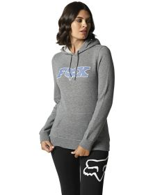 Fox Racing Outer Edge Womens Pullover Sweatshirt Heather Graphite