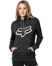 Fox Racing Centered Womens Pullover Sweatshirt Black