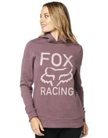 Fox Racing Womens Bordeaux Red Too High Pullover Hoody