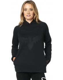 Fox Racing Real Thing Womens Pullover Sweatshirt Black