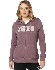 Fox Racing Solo Womens Zip Sweatshirt Purple