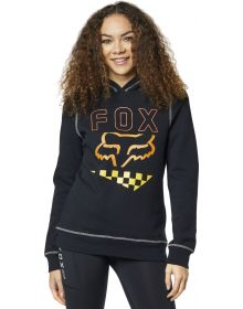 Fox Racing Richter Womens Pullover Sweatshirt Black