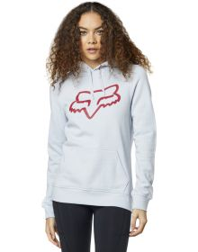 Fox Racing Centered Womens Pullover Sweatshirt Frost