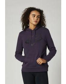 Fox Racing Boundary Womens Sweatshirt Dark Purple