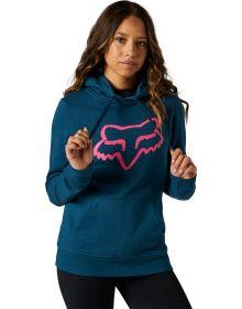 Fox Racing Boundary Womens Sweatshirt Dark Indigo