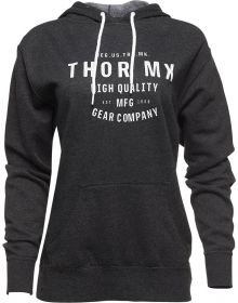 Thor Crafted Womens Pullover Sweatshirt Charcoal