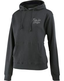 Troy Lee Designs Widow Maker Womens Pullover Sweatshirt Gunmetal Heather