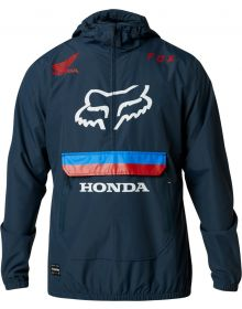 Fox Racing Honda Savage Anorak Jacket Navy