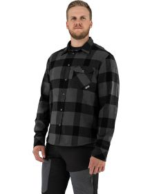 FXR Timber Insulated Flannel Jacket Charcoal/Black