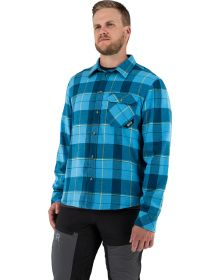 FXR Timber Insulated Flannel Jacket Sky Blue/Slate
