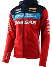 Troy Lee Designs Gas Gas Team Pit Jacket Red
