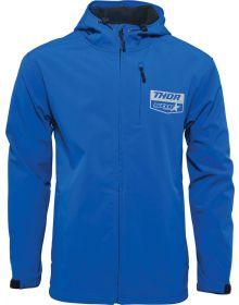 Thor Star Yamaha Softshell Jacket Blue