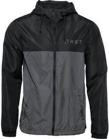 Thor Division Windbreaker Jacket Black/Charcoal