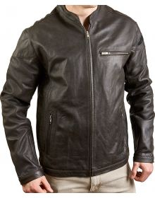 Alpinestars A-Rock Leather Jacket Black