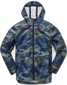 Alpinestars Resist II Rain Jacket Navy/Camo