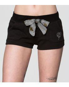 Metal Mulisha Bomber Womens Shorts Black