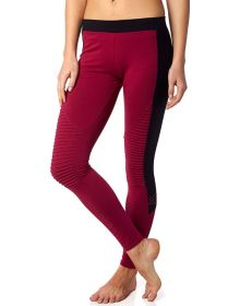 Fox Racing Periphery Womens Leggings Burgundy