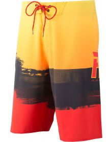 Fly Racing Board Shorts Red/Yellow
