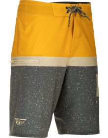 Fly Racing Board Short Mustard/Grey