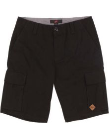 One Industries Worthy Cargo Shorts Black