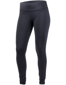 FXR Denim Active Womens Leggings Black/Fuchsia