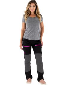 FXR Industry Womens Pant Black/Pink