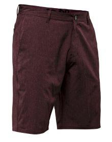 Seven Hybrid Shorts Maroon Heather