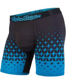 Troy Lee Designs BN3TH Underwear Megaburst Cyan/Black