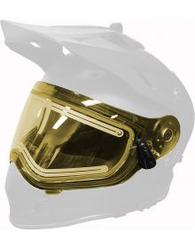 509 Heated Dual Shield 2.0 for Delta R3 Helmets Yellow Tint