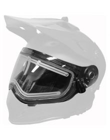 509 Heated Dual Shield for Delta R3 Carbon Fiber Helmet in Clear
