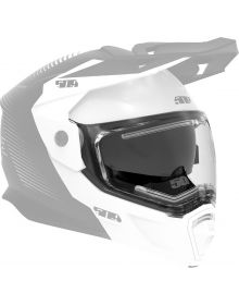 509 Heated Dual Shield for Delta R4 Helmet in Smoke Tint