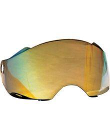 Fly Racing Trekker Shiled Gold Mirror