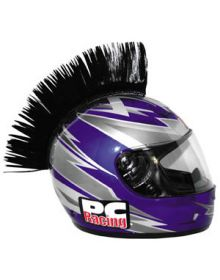 PC Racing Helmet Mohawk Black