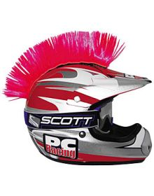 PC Racing Helmet Mohawk Pink