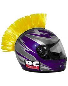 PC Racing Helmet Mohawk Yellow